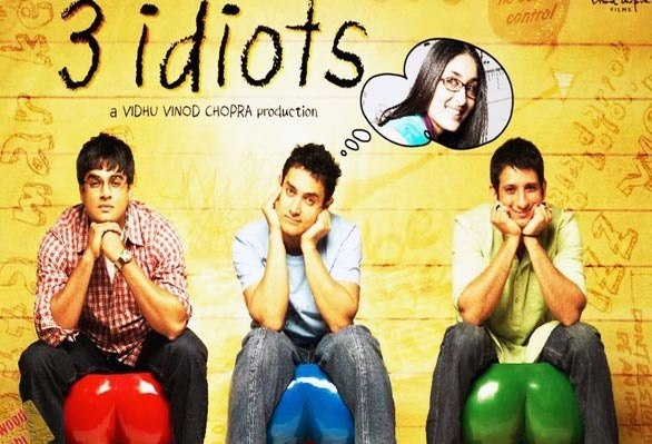 3 Idiots - Top Hindi Movies of All Time