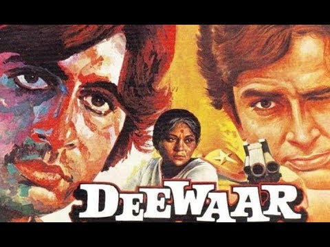 Deewaar - Top Bollywood Hindi Movies of All Time