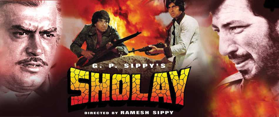 Sholay - Top Bollywood Hindi Movies of All Time
