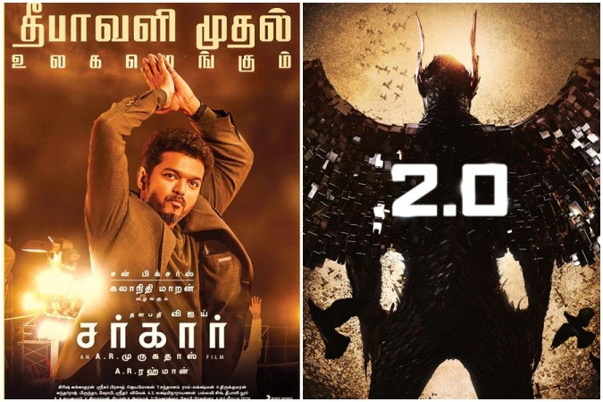 2.0 Versus Sarkar Box office Collection