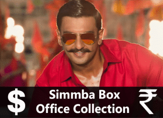 Simmba Box Office Collection - Movie Rater