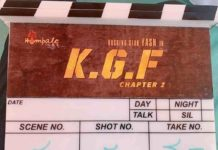 KGF Chapter 2 Shooting Date