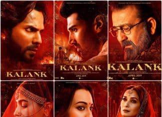 Kalank Posters