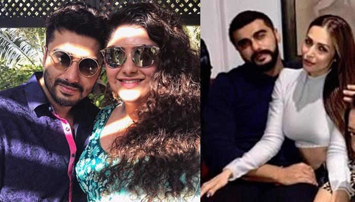 Arjun Kapoor's Girlfriend And Sister Together At Screening