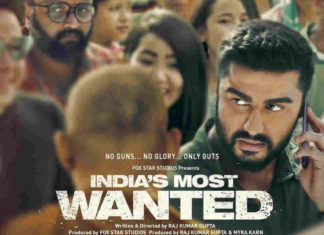India's Most Wanted Daywise Box Office Collection