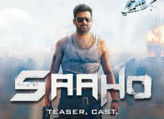 Saaho- Poster release