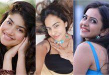 Actress Sri Reddy Applauded Sai Pallavi Over Rakul Preet Singh