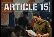 Article 15 Full Movie Download Moviescorner