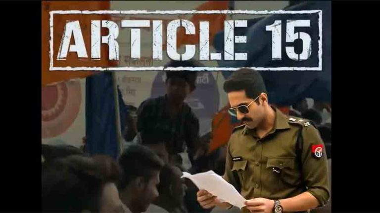 Article 15 Full Movie Download Moviescorner