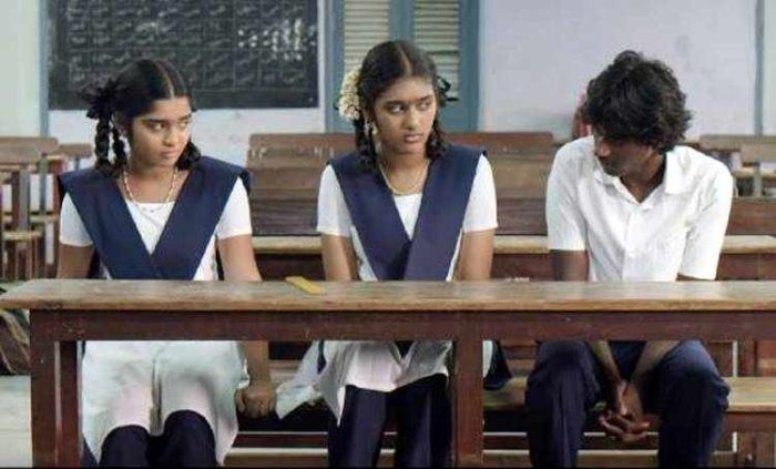 Janu and Ram in school flashback