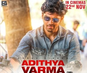 ADITHYA VARMA 2019 Tamil Movie