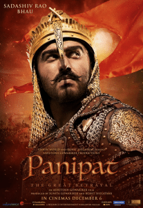 Panipat 2019 Bollywood Epic Movie