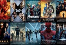 The top superhero movie series