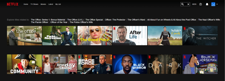 Netflix Libraries