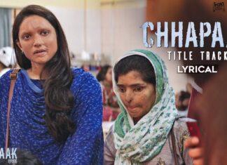 Chhapaak Title Song Lyrics