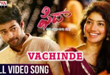Vachinde song lyrics