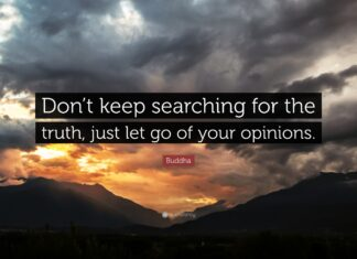 When to Let Go of an Opinion