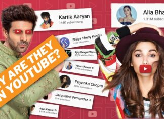 Actors and Celebs Have Their YouTube